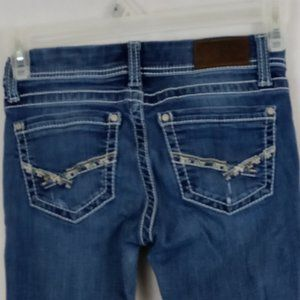BKE Sabrina Distressed Jeans Size 25S